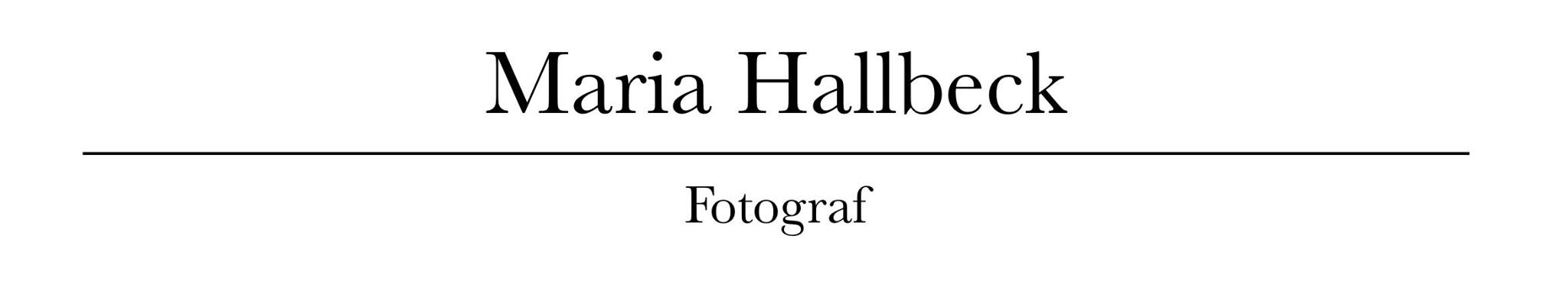 Maria Hallbeck